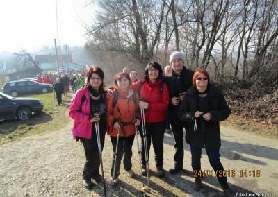 31 PD Ljutomer, VINCEKOV POHOD, 24.1.2016