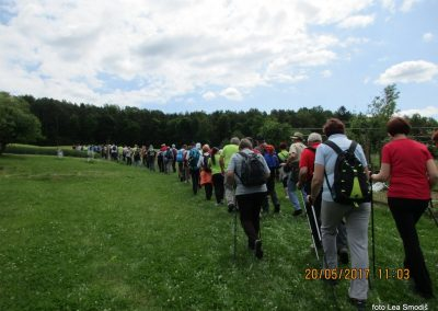 25 Srečanje pomurskih planincev, 20. 5. 2017