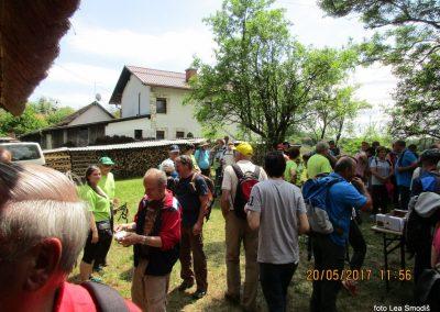 47 Srečanje pomurskih planincev, 20. 5. 2017