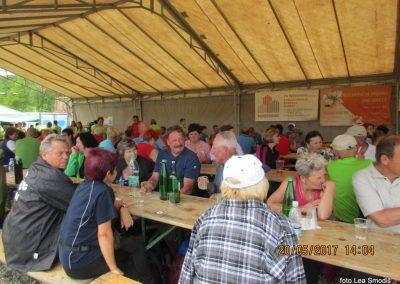 80 Srečanje pomurskih planincev, 20. 5. 2017