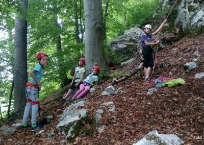 006 Plezalni tabor na Vranskem, 24.6.2017