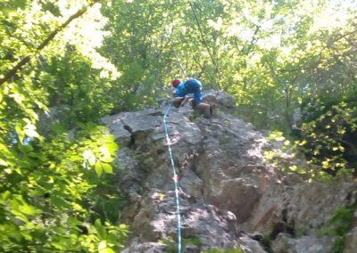 008 Plezalni tabor na Vranskem, 24.6.2017