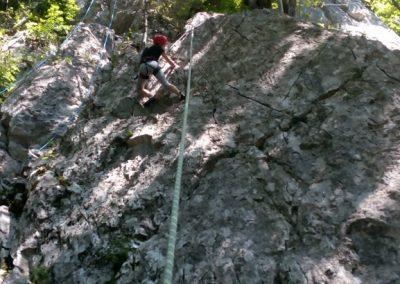 014 Plezalni tabor na Vranskem, 24.6.2017