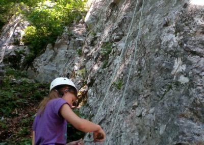016 Plezalni tabor na Vranskem, 24.6.2017