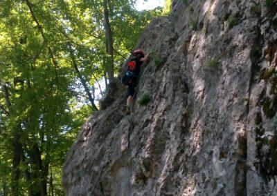 021 Plezalni tabor na Vranskem, 24.6.2017