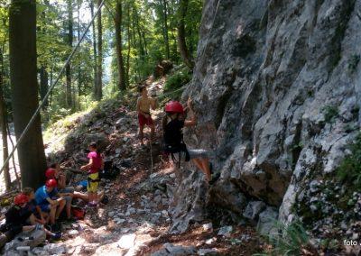 029 Plezalni tabor na Vranskem, 24.6.2017