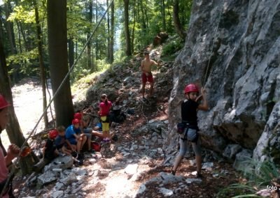 030 Plezalni tabor na Vranskem, 24.6.2017