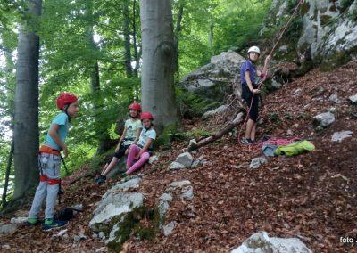 049 Plezalni tabor na Vranskem, 25.6.2017