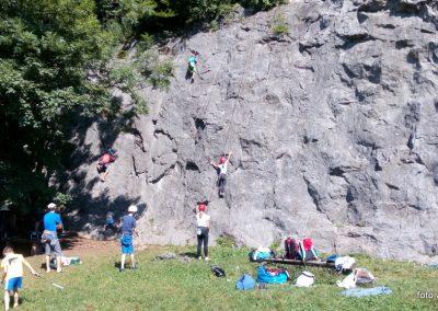 077 Plezalni tabor na Vranskem, 26.6.2017