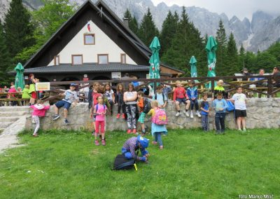 Družinski planinski pohod Planica-Tamar, 4. junij 2017 (foto Marko)