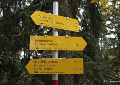 47 pot koča Guten Hirten - koča Steirischer Jokl 11.45