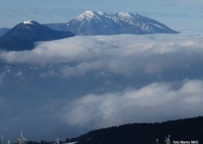 28 razled s Črnega vrha, 1543m - Uršlja gora in Peca, 11.13