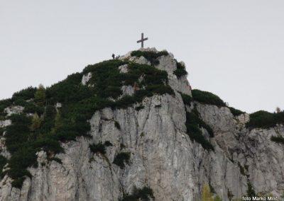 66 vrh Hochlantsch od koče 'Steirer Jokl', 12.10