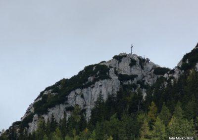 73 vrh Hochlantsch od koče 'Steirer Jokl', 14.17