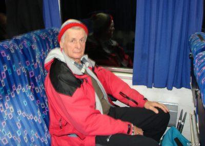 02 Vzpon na Resevno - zjutraj na vlaku, 6.57