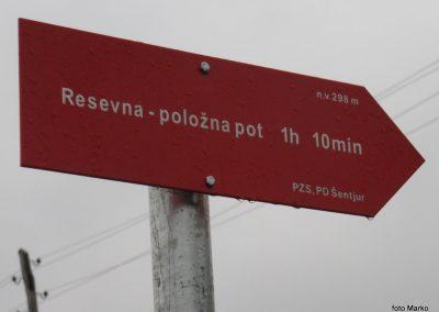 08 Vzpon na Resevno - začetek pohoda, 9.37