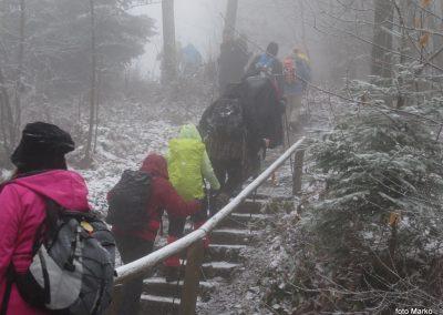 13 Vzpon na Resevno - pot proti vrhu, 10.38