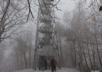 17 Vzpon na Resevno - na vrhu, 11.03