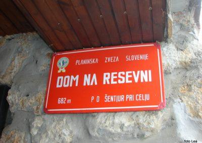 21 Vzpon na Resevno - Planinski dom na Resevni, 9.48