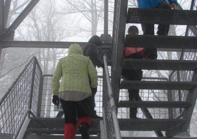 24 Vzpon na Resevno - na vrhu Resevne, 10.02
