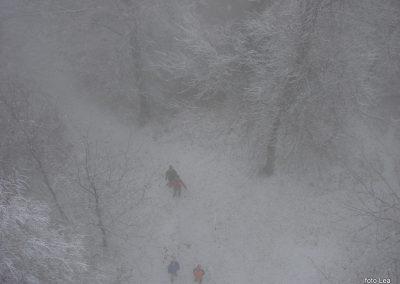 25 Vzpon na Resevno - na vrhu Resevne, 10.04