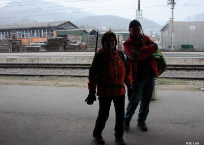 55 Vzpon na Resevno - na železniški postaji v Šentjurju, 14.44