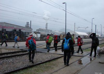 56 Vzpon na Resevno - na železniški postaji v Šentjurju, 14.47