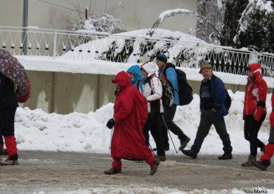 12 Zimski pohod na Jeruzalem, 8. februar 2018