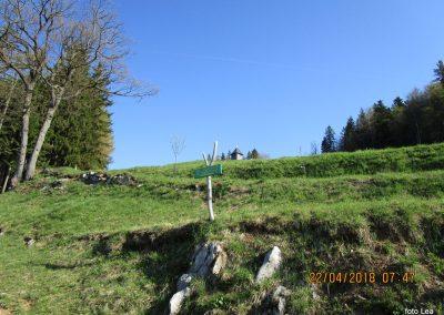 012 vzpon proti cervici Sv. Jošta, cerkvica Sv. Gervazija in Protazija, 8.47