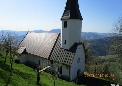 018 cerkev Sv Jošta, 955m, počitek, 8.58