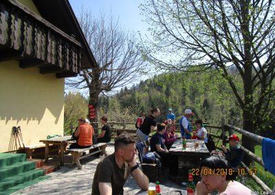 077 planinski dom na Čreti, 875m, 11.57