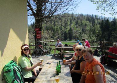 080 planinski dom na Čreti, 875m, 12.00