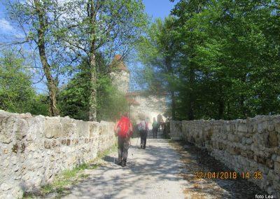 123 grad Žovnek, 411m, 15.35