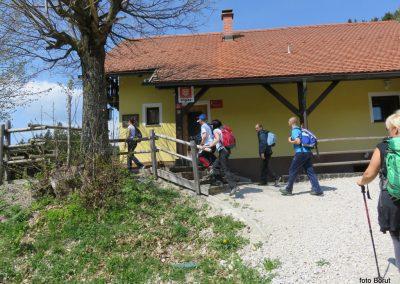 34 planinski dom I. štajerskega bataljona na Čreti, 875m, 11.55
