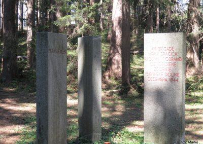 53 spomenik ob poti, 945m, 14.07