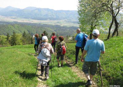 66 spodnja Savinjska dolina in Zasavko hribovje od kmeta Brezovnika, 750m, 14.42