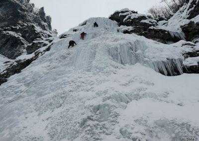 Ledno plezanje SLAP SUŠICA (foto Saša)