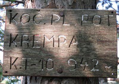 13 Kremparsko sedlo, 869m, 09.08