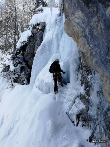 15 Ledno plezanje v Logarski dolini, 3. marec 2018