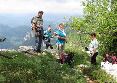 19 vrh Krokar, 1122m, 10.21