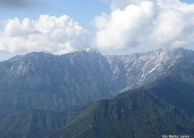 21 razgled med vzponom - Robanov kot, vrh Križevnik 1910m, 10.05