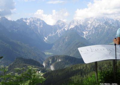 34 razgled od Potočke zijalke - Logarska dolina, Ojstrica, Planjava, Brana, 12.08