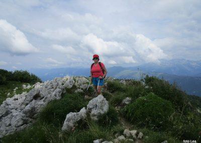 133 pot po grebenu po italijanski-slovenski meji, 11.23