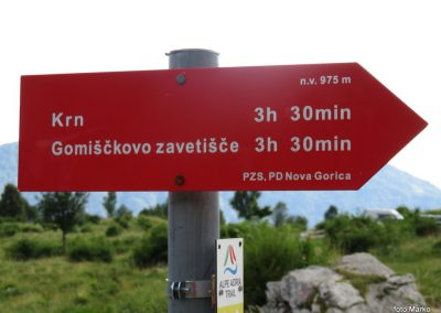 42 planina Kuhinja, do Krna je še 'dolga', 17.46