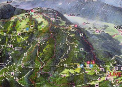 60 na začetku vzpona na Matajur, 9.00