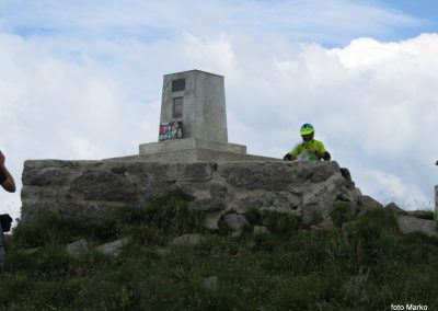 70 Matajur, 1641m - vrh