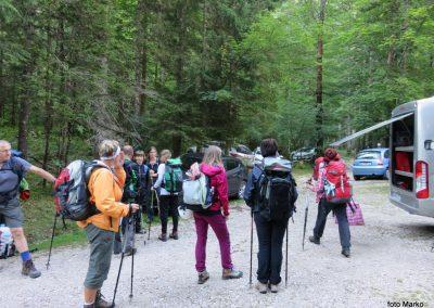 003 priprave na pot, 'Pri lesi' v Krmi - 950m, 8.53