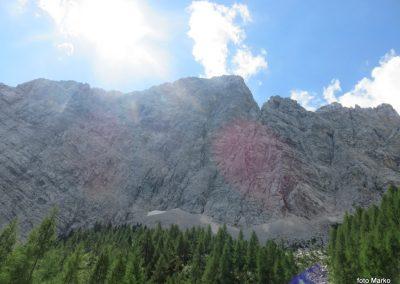 013 nalevi strma prepadna severna stena Draških vrhov, 11.24