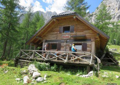 018 planina Zgornja Krma, pastirski stan Prgarca - 1763m, primeren kraj za drugi počitek, 12.01