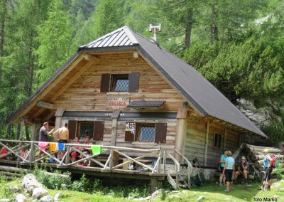 020 planina Zgornja Krma, pastirski stan Prgarca - 1763m, primeren kraj za drugi počitek, 12.24